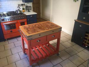 lamborghini-orange-butchers-block-painted-to-match-cooker-a