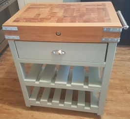 small-butchers-block-with-one-drawer-2-slatted-shelves-painted-a-soft-grey
